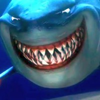 Bruce from Finding Nemo was a Real One from the jump.
