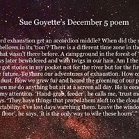An advent calendar of poetry: December 5