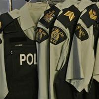 RCMP uniforms.