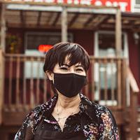 Portrait of I Love Pho's owner, Thu Tran.