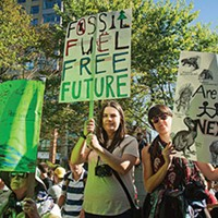 The fossil fuel era is ending. It's time to find ways to shift fairly and equitably to better ways of living and powering our societies.  LENNY MULLINS