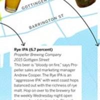 High five: a craft beer walking tour