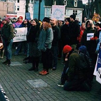 Concerned Haligonians march against climate change this past weekend.