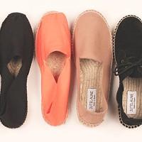 A rainbow of handmade shoes