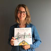 SHOP THIS: Hand Drawn Halifax Colouring Book