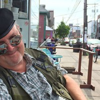 On the fringe of the Fringe Fest, Bud Hunter is also its heart