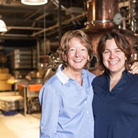 Where I work:  Arla Johnson and Julie Shore