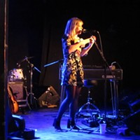 Basia Bulat's buttery voice was lovely as always Saturday at the Pop Explosion.