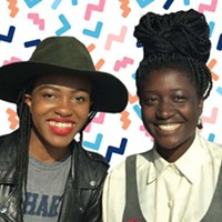 Isabelle Ofume and Shaya Ishaq want to bring you the Two Brown Girls podcast live.