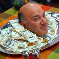 Kevin O'Leary will be one of 13 entrepreneurs pitching themselves to investors.