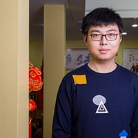 Leon Qiu likes having conversations about Chinese food as much as he likes serving it.