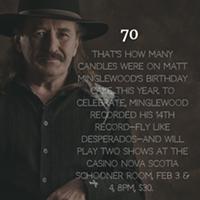 Matt celebrates 70