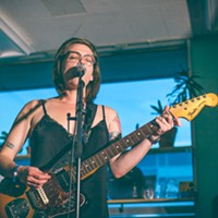 Vulva Culture's Amy Vinnedge, pictured here at the 2015 Halifax Pop Explosion.