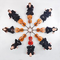 Belgian cello octect Ô-Celli will be performing in October.