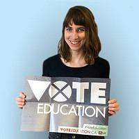 Laura Cutmore is a (paid) intern at the Canadian Federation of Students-Nova Scotia. She's also a graduate student at Dalhousie University, co-director of the Dalhousie Student Union Sustainability Office and an organizer with Divest Dal. Find out more about the #VoteEducation campaign at voteeducation.ca and get updates through @cfsns on Twitter, Facebook and Instagram.