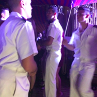 Vespucci sailors dancing during their party.