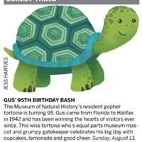 Gus' 95th birthday bash