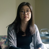 Jianing Xu, pictured here in her Halifax apartment.