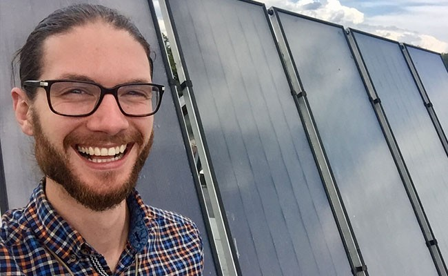 Stephen Thomas is the energy campaign coordinator with the Ecology Action Centre. - SUBMITTED
