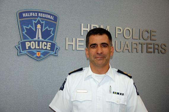 Criminal Investigation Division superintendent Jim Perrin. - THE COAST