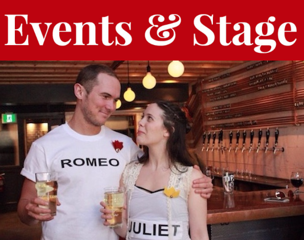 Tea Time Creation Co takes the familiar tale of Romeo & Juliet through Good Robot's taprooms, pint in hand. - SUBMITTED PHOTO