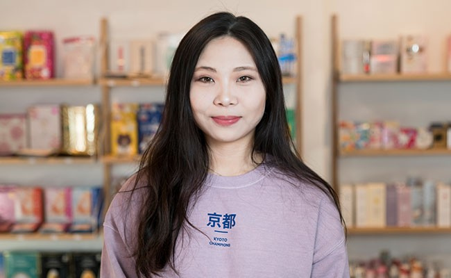 Xin Pang opened Robie Street's Zakka Mart with her partner in March - IAN SELIG
