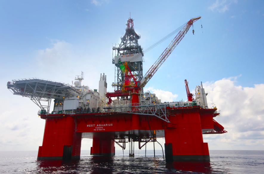 The West Aquarius will be doing exploratory drilling offshore from Nova Scotia. - VIA BP CANADA