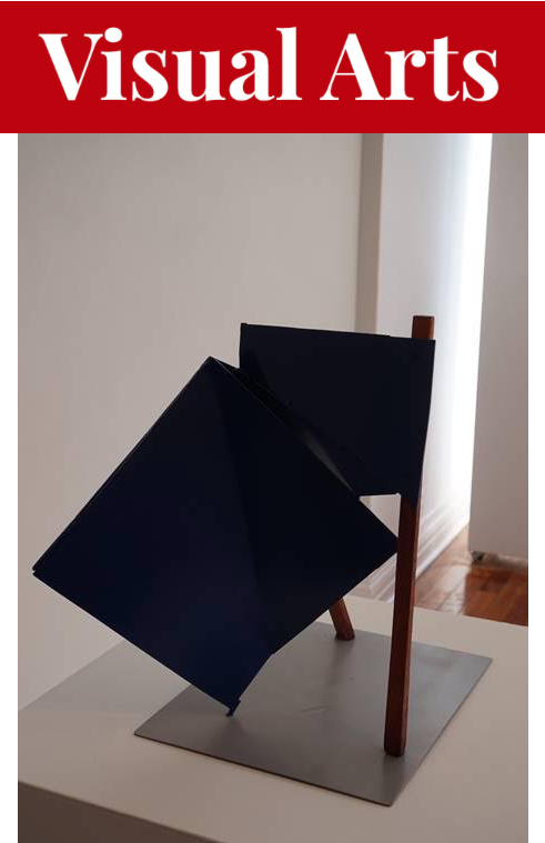 Robert Murray's first-ever solo show in Nova Scotia sees Studio 21 filled with awesome and abstract works like Lillouette. - ROBERT MURRAY ARTWORK