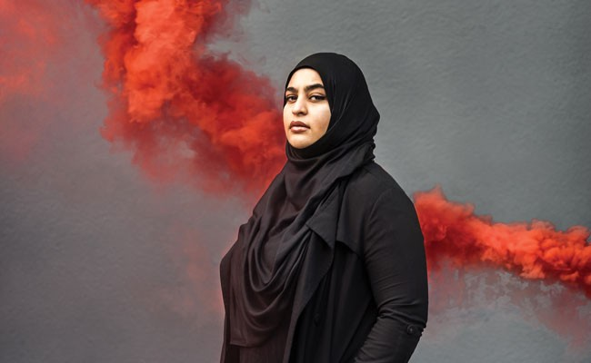 Masuma Khan is an Afghan woman who is a second-generation settler on Mi'kmaq territory. She is the vice president academic and external for her second term at the DSU, and in her final year of the international development studies program at Dalhousie. - MEGHAN TANSEY WHITTON