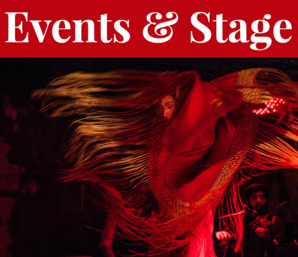 The Atlantic Flamenco Festival goes out with a bang as Spanish dancer Virginia Castro Duràn takes The Seahorse stage Thursday. - SUBMITTED PHOTO