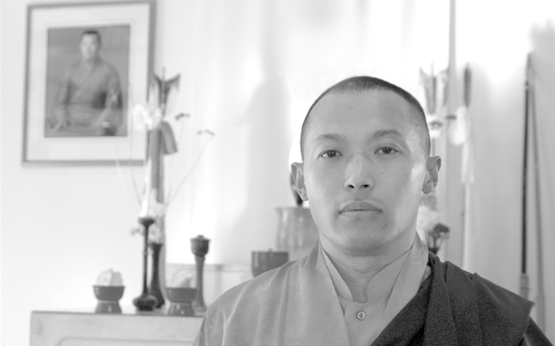 Sakyong Mipham Rinpoche, pictured in 2003. - RYAN WHYNOT