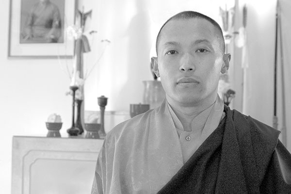 The Sakyong Mipham Rinpoche. - RYAN WHYNOTT