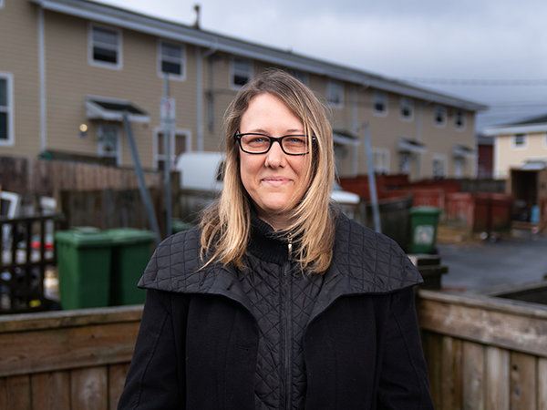 """Rental supplements """"don't always fit the actual needs of people in housing need,"""" says Jodi Brown. - IAN SELIG"""