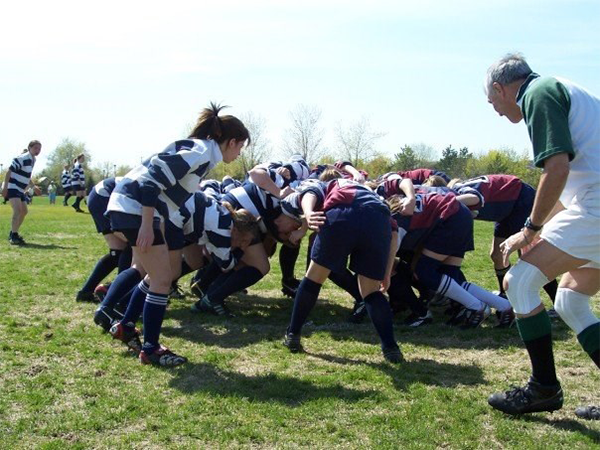Scrum kind of wonderful: rugby is back in Nova Scotia high schools. - SUBMITTED