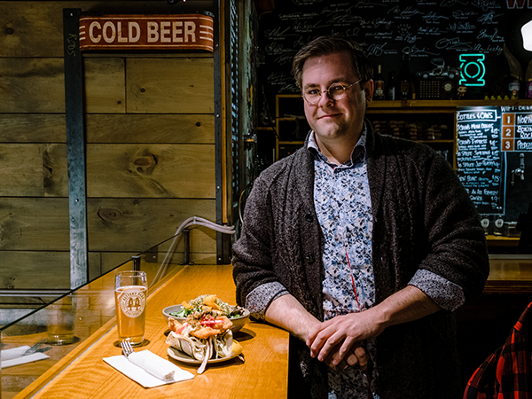 Steven Heisler enjoyed getting his Prud'homme Beer Certification so much, now he wants to teach you. - MATT WILLIAMS