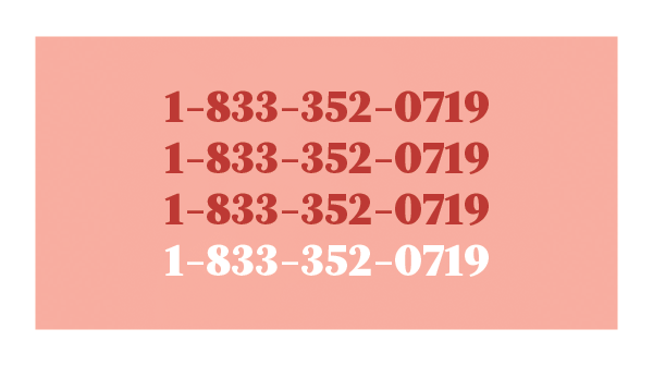 Nova Scotia's abortion services phone number. Calls are answered between 8am and 3pm, and any messages left will be responded to.