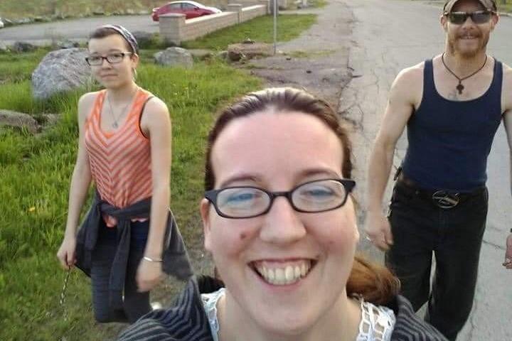 Jolene Oliver, Aaron Tuck and Emily Tuck - GOFUNDME