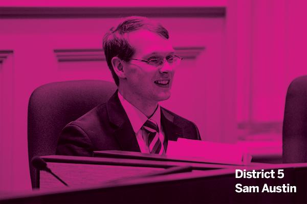 Councillor Sam Austin