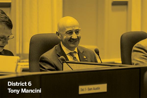 Councillor Tony Mancini