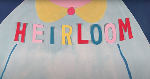 """A still from the """"Heirloom"""" video, which singer-songwriter Kim Harris says lifts her song """"into its newest astral self."""""""