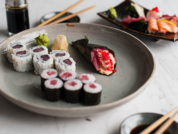"""Hopefully Kitsune's tuna roll will be among the """"old favourites"""" that makes it to the new menu."""