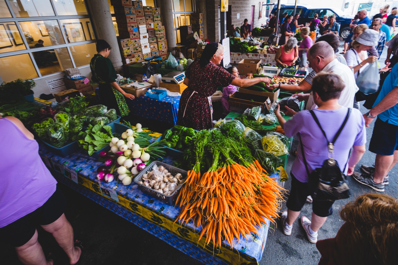 Alderney Farmers' Market - SAMUEL KEAN