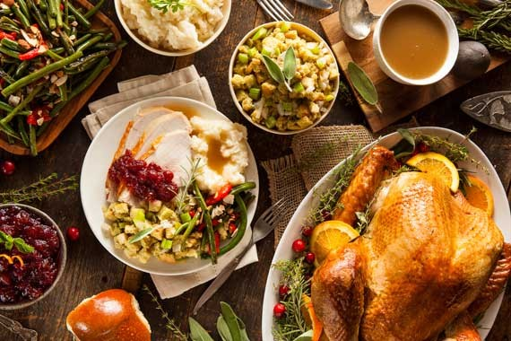 """Share Thanksgiving is a practical way to be more welcoming to newcomers,"" says a host. - ISTOCK"