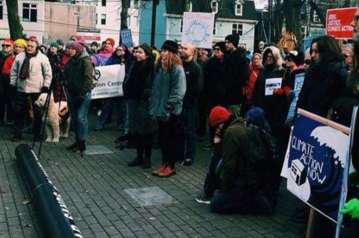 Concerned Haligonians march against climate change this past weekend. - VIA EAC