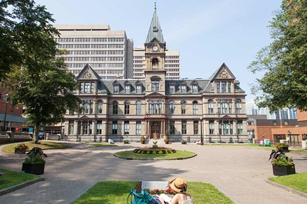 City Hall's pretty jazzed not to be Province House right now.  - JORDAN BLACKBURN