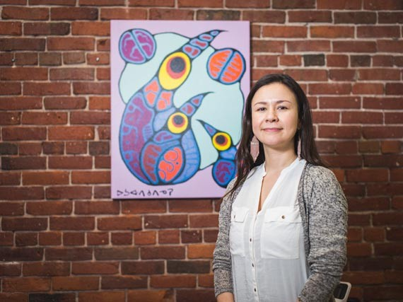 Professor Amy Bombay has been researching the cross-generational effects of historical trauma and its impact on indigenous Canadians. - DYLAN CHEW