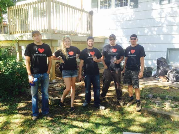 "The i love renovations crew follows the motto, ""if you dream it, we can build it."""