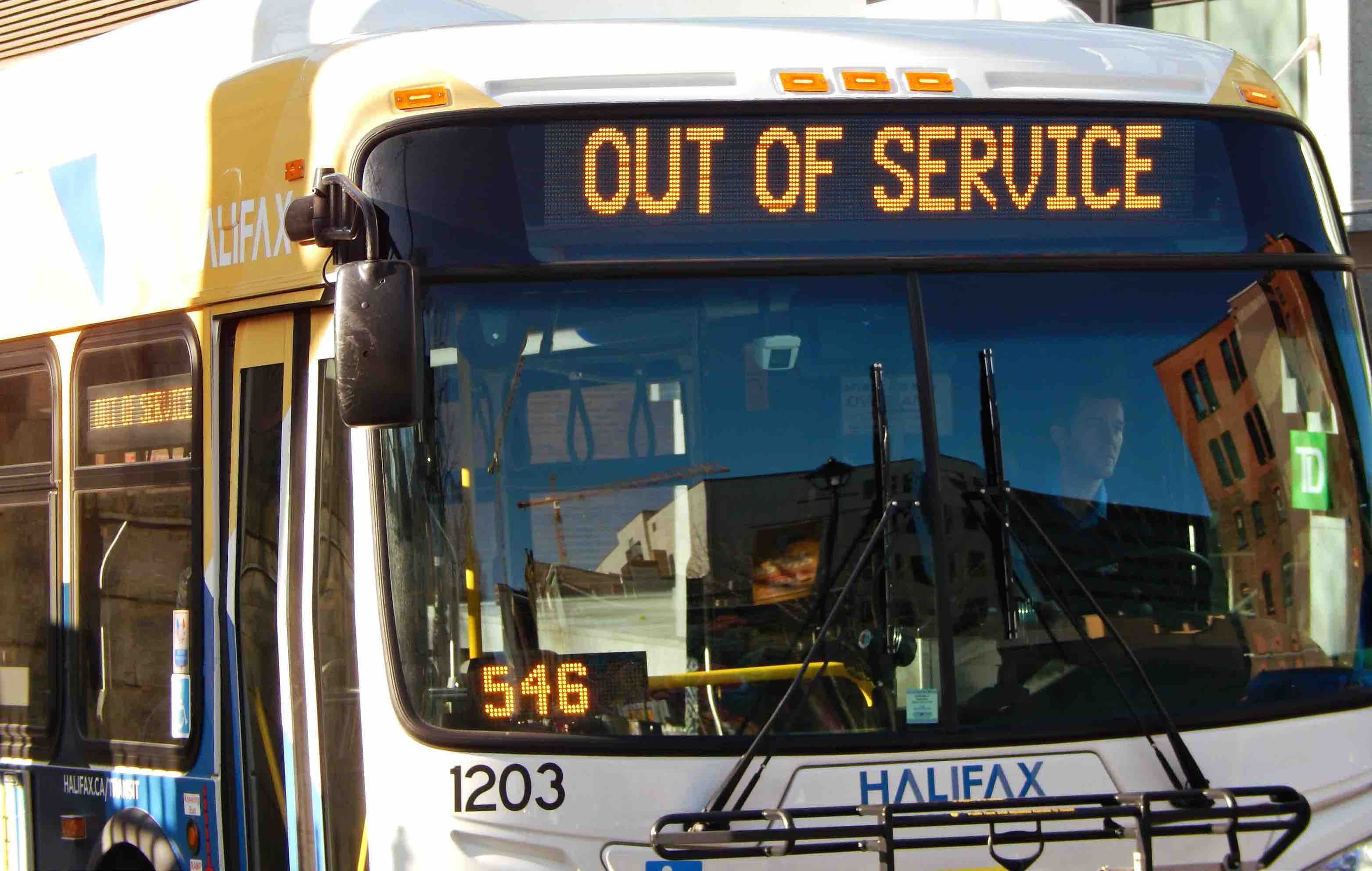 how to get to halifax from fredericton bus