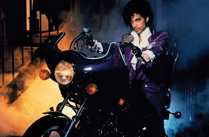 I only wanted to see you / Bathing in that purple rain