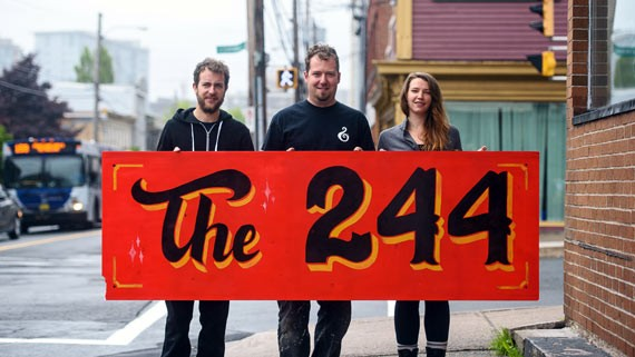 Tandy, Edelstein and McKernan will open The 244 in July - HILARY HENDSBEE